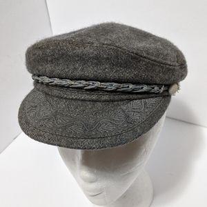 Vtg Greek Woolen fisherman cap/hat
